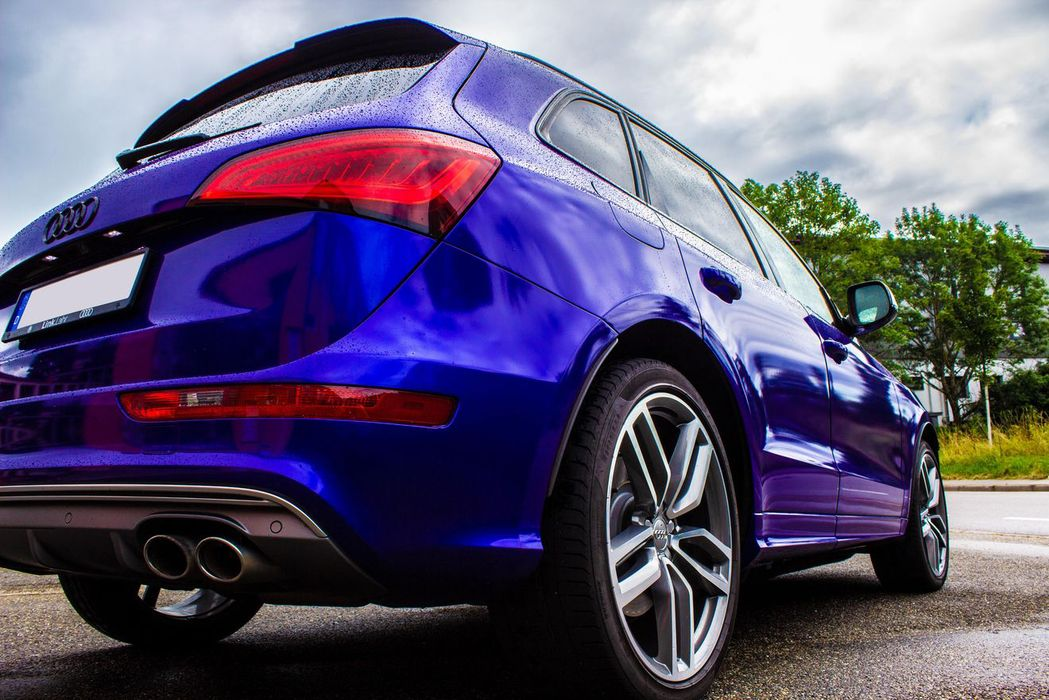 Audi Q5 Vollfolierung Lahr Carwrapping 3M Hexis
